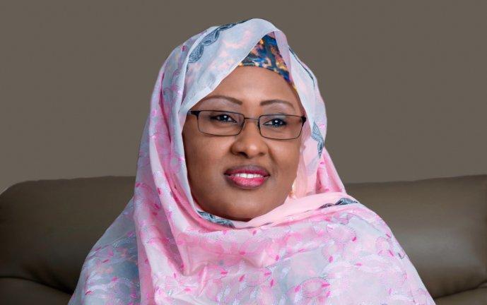 Wife of the president of Nigeria, Hajia Aishat Buhar