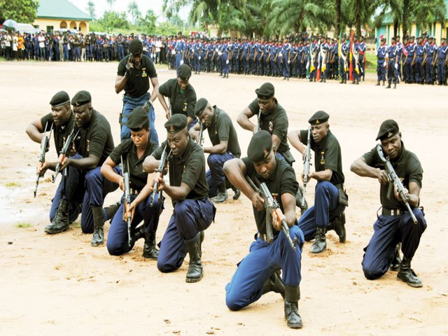 NSCDC Officers @ Training