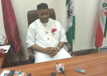 Senate Minority Leader , Godswill Akpabio