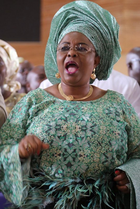 Mrs Patience Jonathan Wife of former president of Nigeria Dr Goodluck  Jonathan