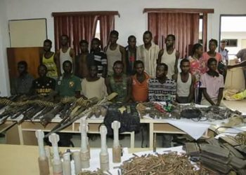 suspects and the ammunition recovered