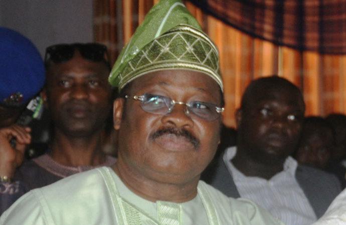 Sen AbiolA Ajimobi, the executive governor of Oyo state