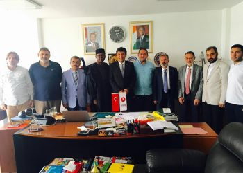 Akinboboye with the MUSIAD Team in Abidjan