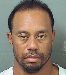 The Palm Beach County Sheriff's Office provided this image of Tiger Woods on Monday after his arrest. (Palm Beach County Sheriuff's office via Associated Press)