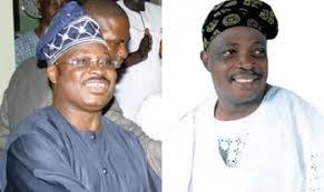 Senator Rashidi Ladoja and Governor Abiola Ajimobi