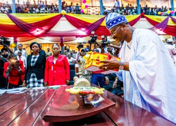 Governor Ajimobi presents the 2018 BUDGET at The House of Assembly - 14th Dec 2017.