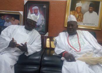 Aare Gani Adams and Olubadan of Ibadanland Oba Saliu Adetunji Aje Ogunguniso 1