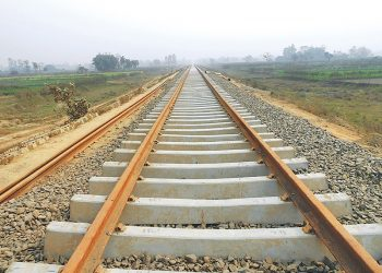 LASTMA closes road for Rail Project