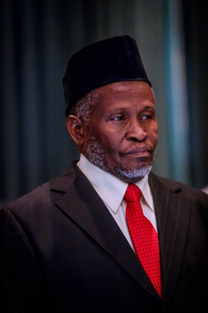 Ibrahim Tanko  the acting Chief Justice of Nigeria