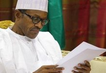 Visually Impaired people writes Buhari