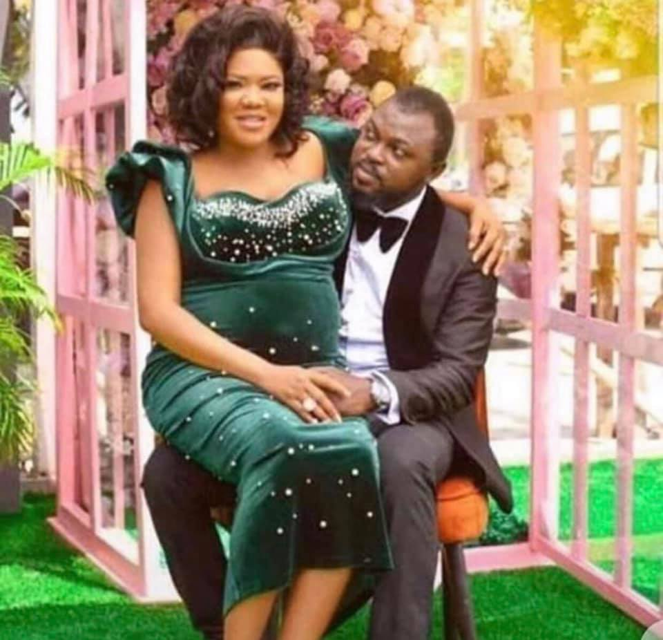 Toyin and her husband
