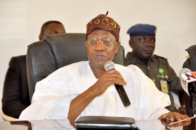 Minister of Information and Culture, Alhaji Lai Mohammed,