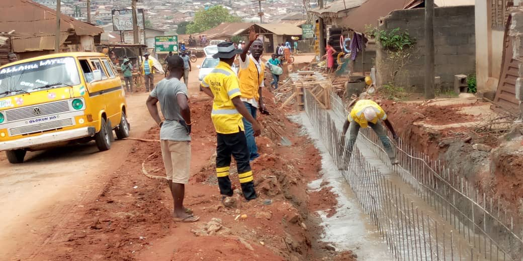 Ongoing Construction of Olose-Titun - Ikorita - Meje Road in Ifo