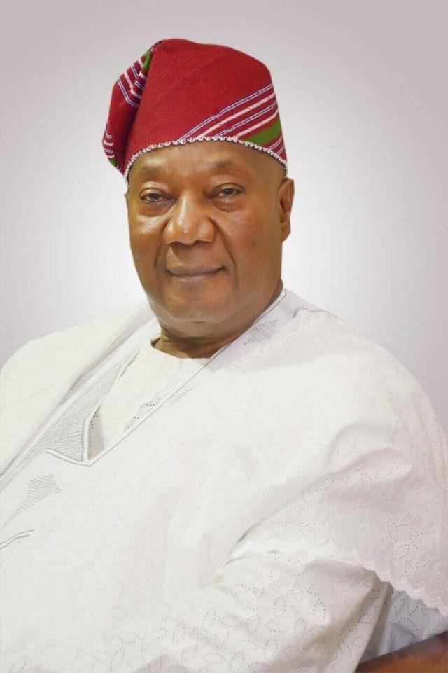 Former Lagos State Head of Service, HOS, Alhaji Rafiu Tinubu