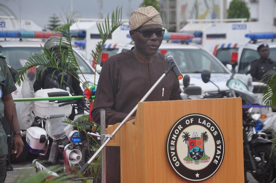 Lagos State Governor Babajide Sanwoolu