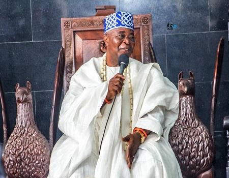 Oba Adedotun Aremu Gbadebo II Alake of Egbaland