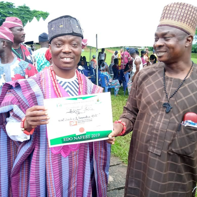 Ekiti state wins most innovative and creative at NAFEST 2019