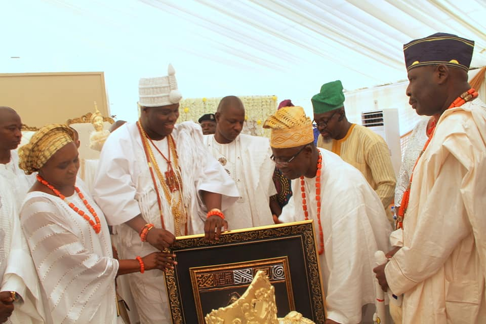 inaugurate the Yoruba Art gallery's section of the Resort