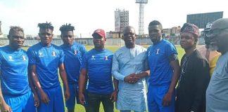 Shooting Stars Sports Club (3SC), got a monetary reward of One million naira, for their superlative performance.