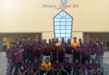 Crown FC goes spiritual
