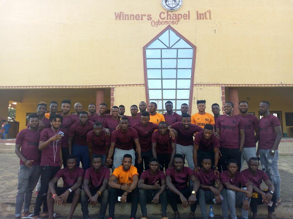 Crown FC goes spiritual