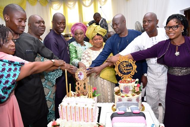 Governor Makinde's mum celebrate 80
