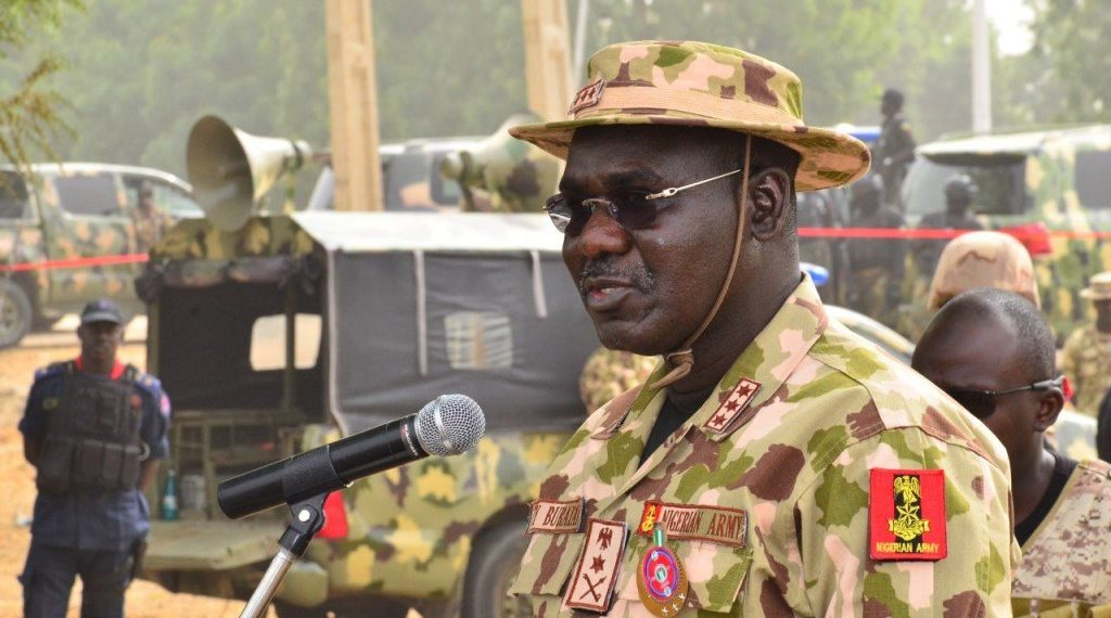 hief of Army Staff, Lieutenant General Tukur Buratai
