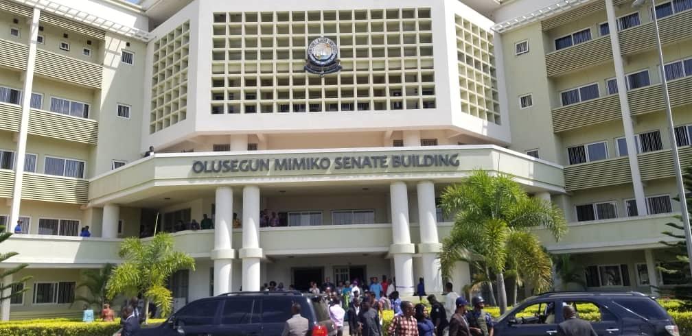 Olusegun Mimiko senate building