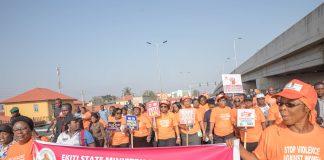 Erelu Bisi Fayemi led campaign against gender based violence