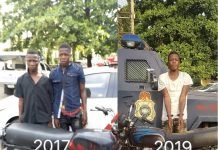motorcle snatcher rearrested in Lagos