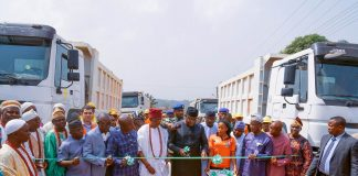 Fayemi flags off four road projects
