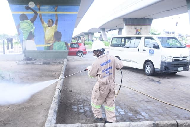 lAGOS FUMIGATES MAJOR BUST STOPS