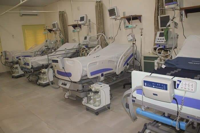 some of the ICU Beds and ventilators