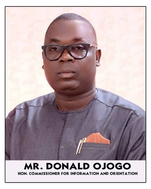 Donald Ojogo, commissioner for Information Ondo state