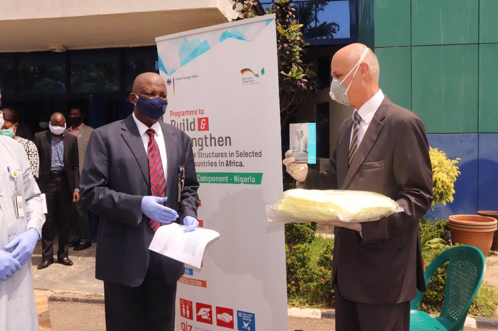 German Government donates PPE to Police