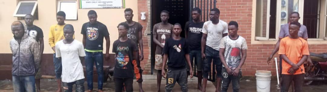 RRS Raids criminal hideouts in Lagos