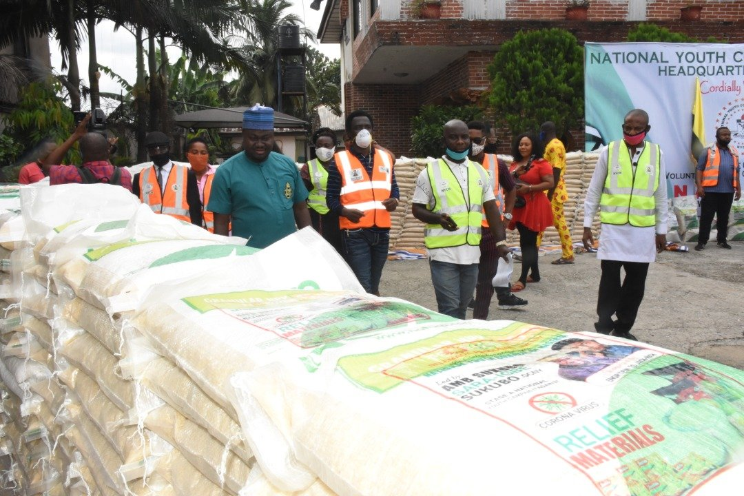 FG donates 600 bags of Rice
