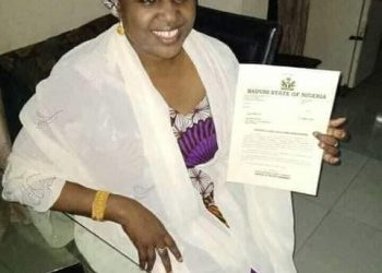 Balaraba Ibrahim Special Assistant to Bauchi Sstate Governor  on Women Affairs (Unmarried)