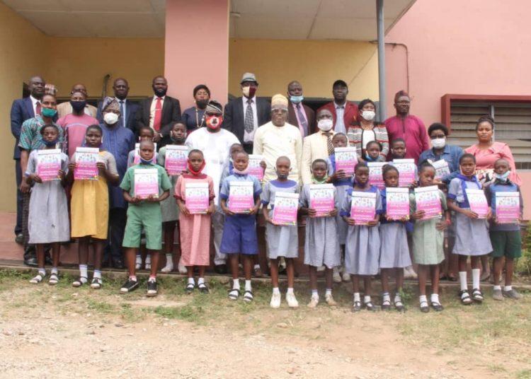 SGD Donates book to SUBEB