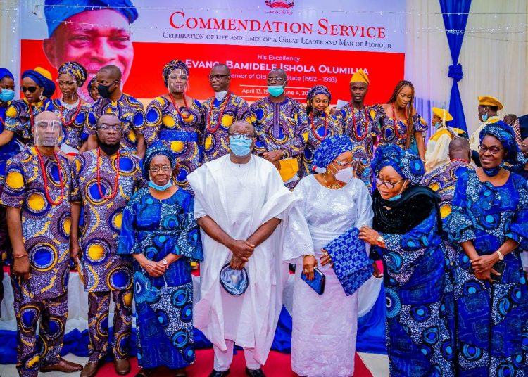 Fayemi pays moving tribute to olumilua