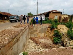 odebunmi inspects road projects