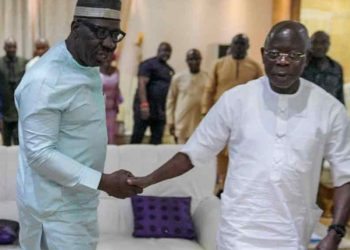 Gov Obaseki and Adams Oshiomole