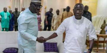 Gov Obaseki and Adams Oshiomole