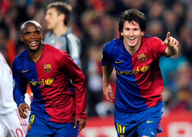 I'm Happy  Lionel Messi is Not Leaving Barcelona- Samuel Eto'o