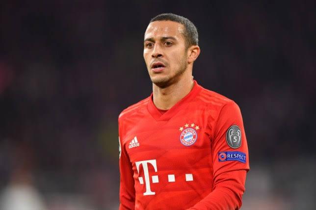 Thank you Bayern Munich , Thiago Alcantara
