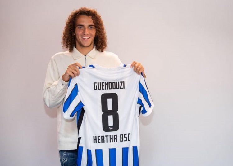Arsenal midfielder Matteo Guendouzi joins Hertha Berlin on loan