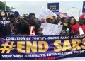 Tegbe Solidarizes with Nigerian Youth on endsars