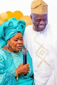 Gov Makinde and Mum