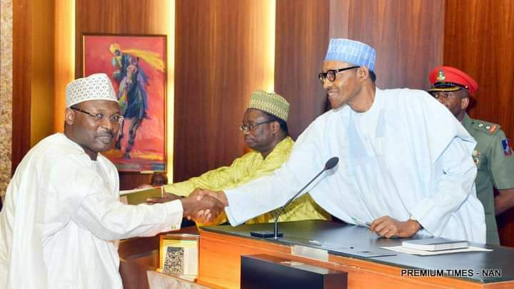 PD HAILS REAPPOINTMENT OF INEC'S CHAIRMAN