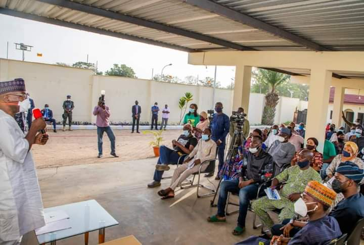 Kwara Gov Meets Owners of Looted Businesses, Assures Them of Govt's Support